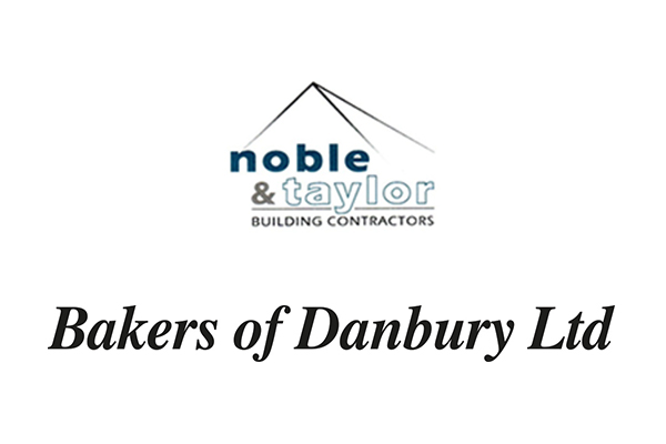 Bakers of Danbury Logo - Noble & Taylor Logo