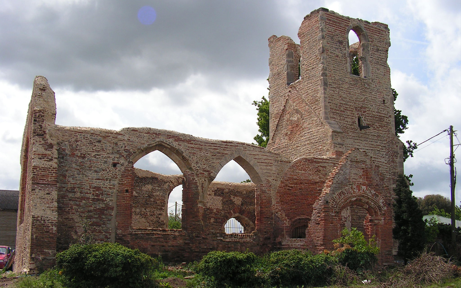 All Saints Church Ruins