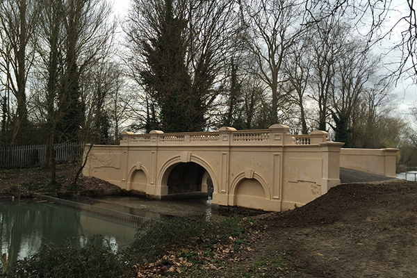 Gaynes Park Bridge, Upminster - After