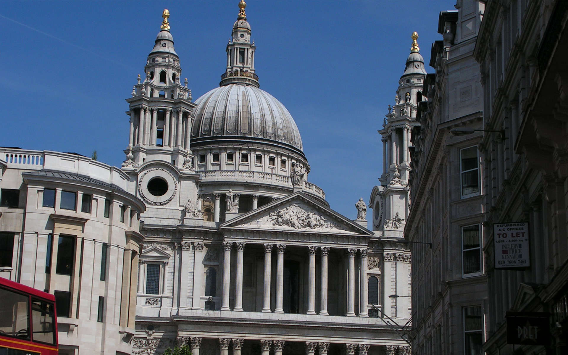 Bakers of Danbury - Conservation works to St Pauls Cathedral, London