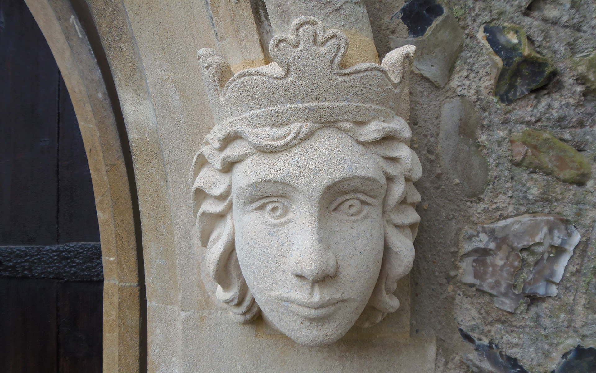 Willingale hand carved stone