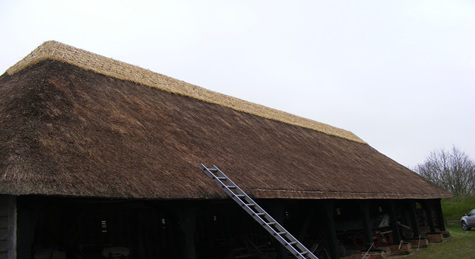 Cressing Temple Barn - Thatched Roof