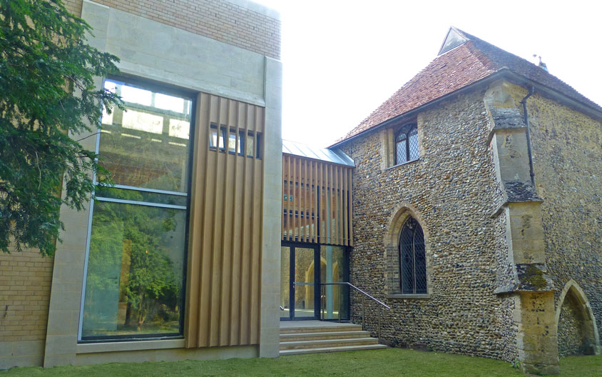 Clipsham stone extension