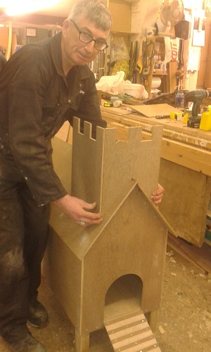 in-house joinery workshop
