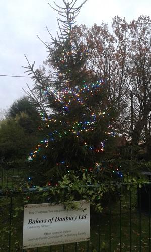 Bakers of Danbury, Danbury Village Christmas Tree