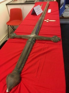 Original Cross from Danbury War memorial provided by Bakers of Danbury for the village Heritage Weekend 2018