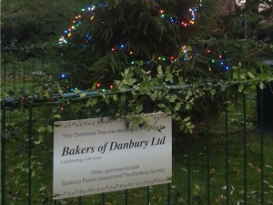 Bakers of Danbury, Danbury Village Christmas Tree