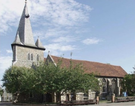 All Saints Church, Maldon Essex - Bakers of Danbury local community