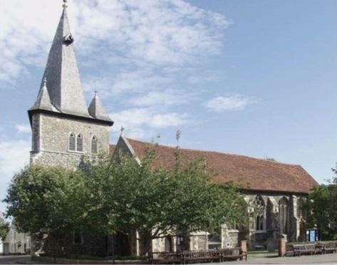 All Saints Church, Maldon Essex - Bakers of Danbury local community