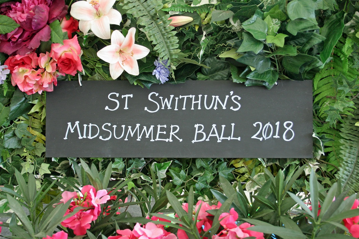 St Swithun's Summer Ball Church Restoration Appeal, Great Chishill