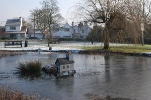 Danbury pond, Essex