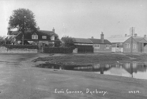 Bakers of Danbury, Eves Corner 1925