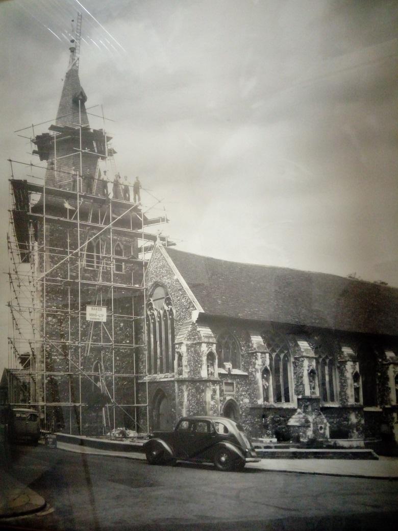 Church Spire restoration