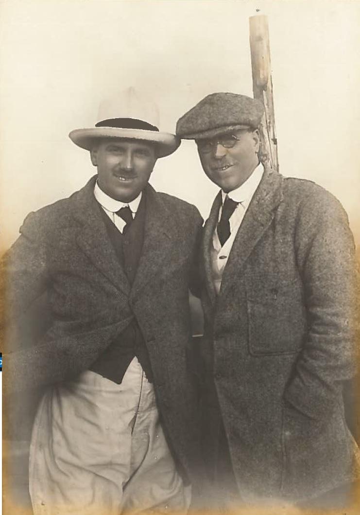 Frank and Charlie Baker