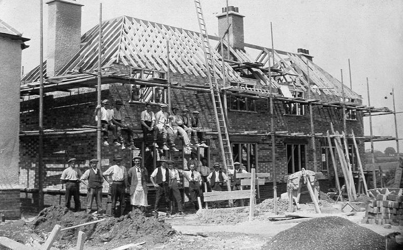 Lingwood Close, Danbury, houses built 1920