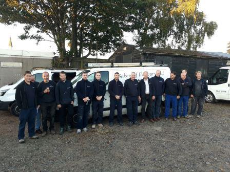 Team of tradesmen from Bakers of Danbury Ltd