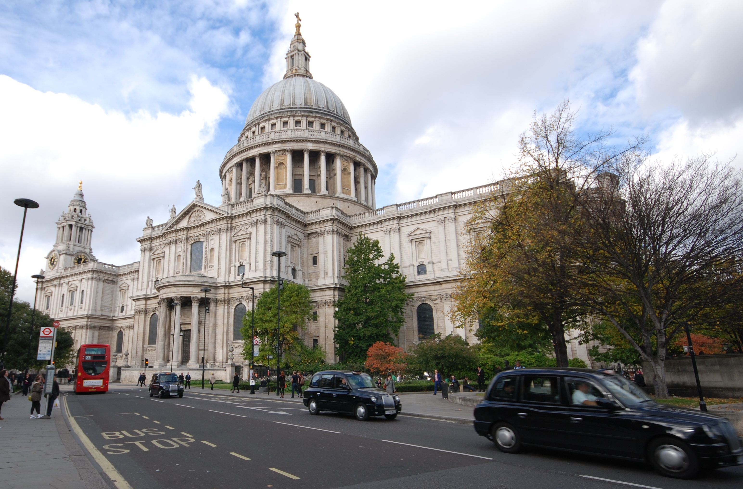 St Pauls Cathedral, London. Conservation and Restoration works