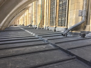 conservation and roof works to Westminster Abbey
