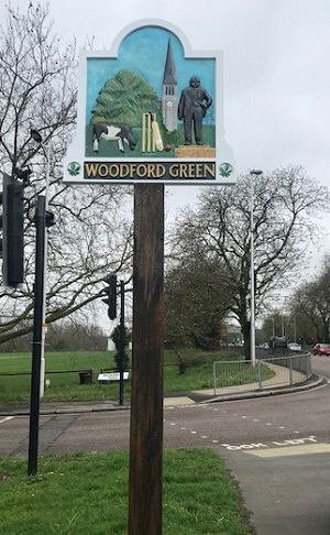 village sign refurbishment