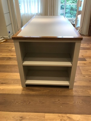 oak shop display units