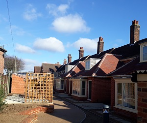 Refurbishment and extensions to nine almshouses