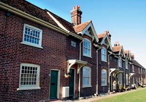 Refurbishment and extensions to nine almshouses in Colchester Essex
