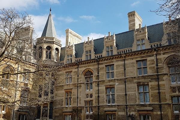 Gonville & Caius College in Cambridge stone restoartion