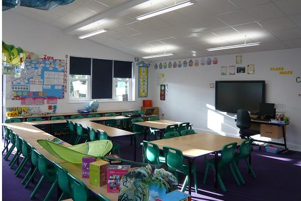 St Patrick school renovation