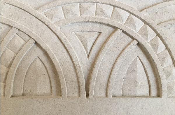 handcarved stone, stone masons
