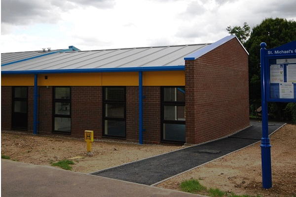 St Michaels Primary School Braintree new build classroom block extension