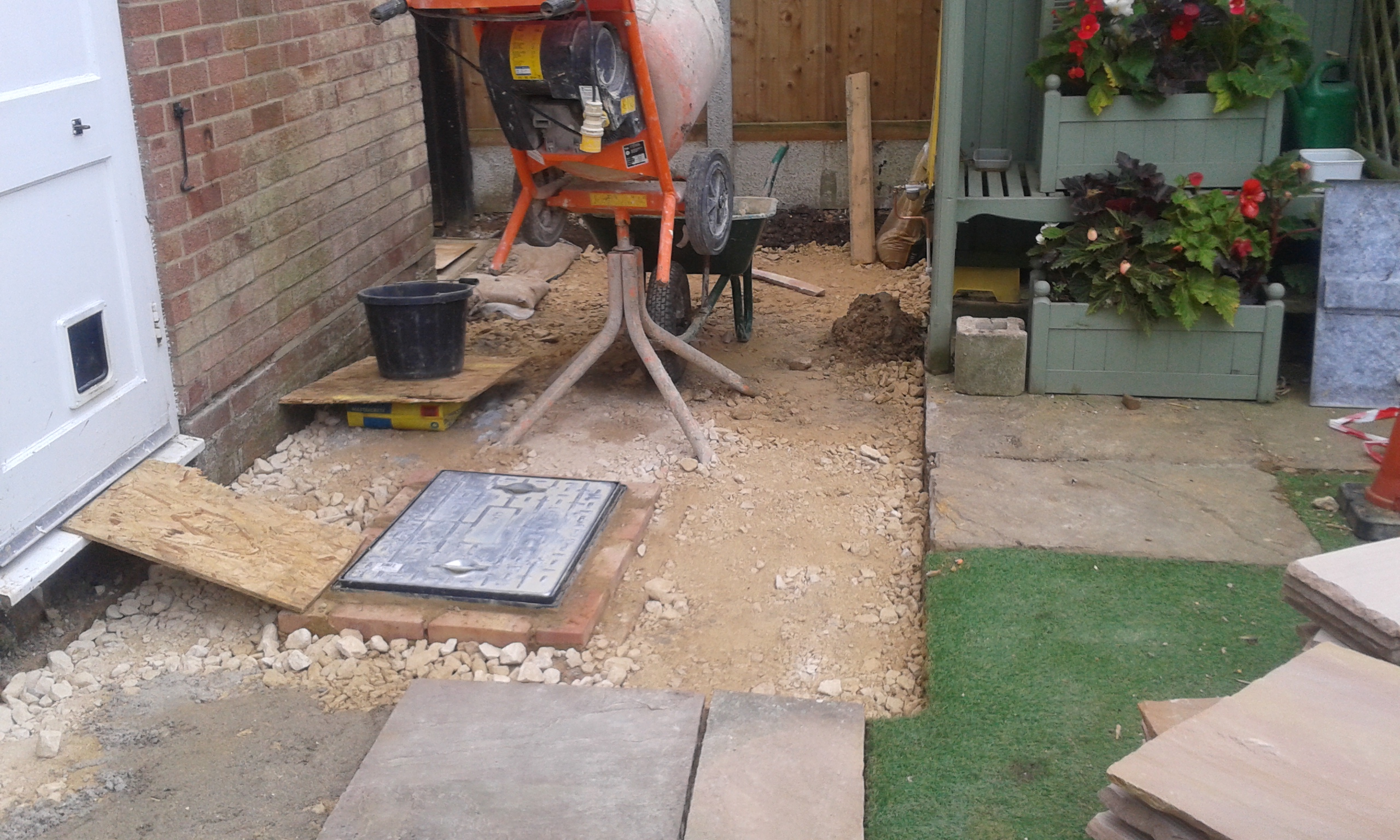 pilling carried out subsidence insurance claim