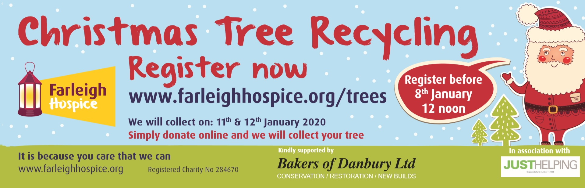 Farleigh Hospice Christmas Tree Recycling