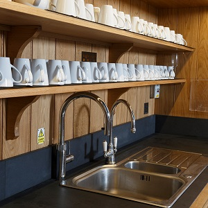 church reordering bespoke service facilities, kitchenette, servery facilities