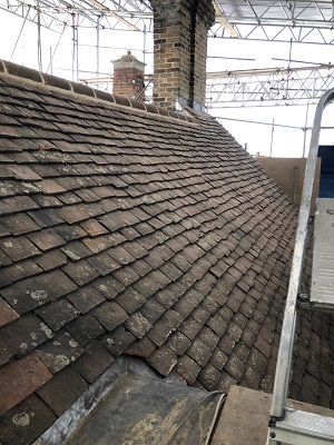 refurbishment and roofing project at Westminster Ab