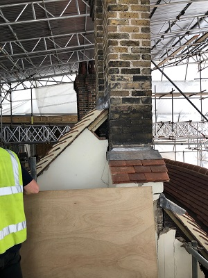 refurbishment and roofing project at Westminster Abbey Deanery