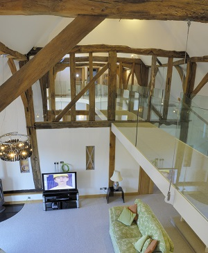 Barn Conversion mezzanine floor