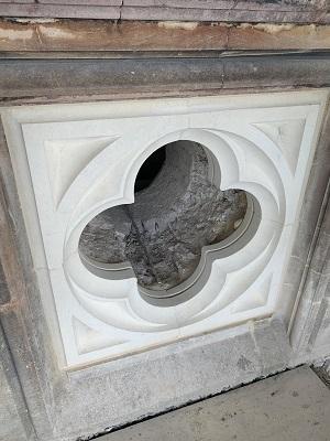 stone quatrefoil