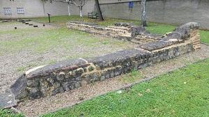 lime mortar repair Roman-era Church apsidal Remains