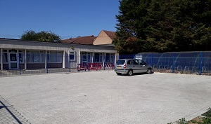 extended car park extra hard surface parking spaces