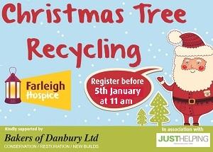 Farleigh Hospice Christmas Tree Recycling 2