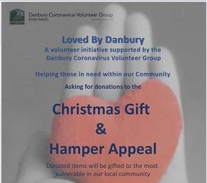 Danbury Community Volunteer Group - Christmas gift and hamper appeal