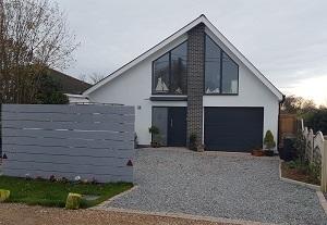 new build detached house