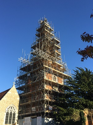 Conservation and restoration to All Saints Church, Terling