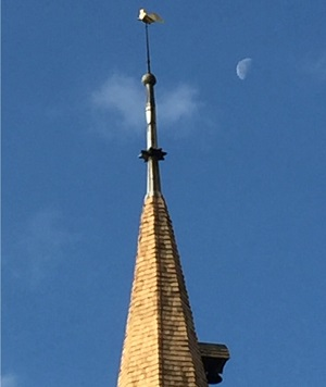 Conservation and restoration to the spire at All Saints Church, Terling