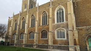 Restoration to St Nicholas Church in Harwich, Essex (2)