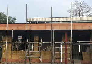 single classroom extension to Grays Convent School