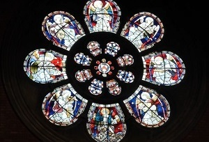 Conservation of the Union Chapel, London - stained glass window clean and repair