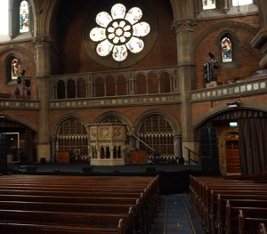 The Union Chapel, London conservation project