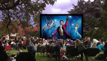 Little Baddow Festival - open cinema, Greatest Showman Film, September 2021