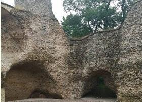Walden Castle restoration, now open to public